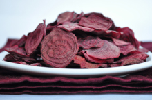 Beet Chips. Photo courtesy LiveWell Colorado.