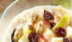 Creamy Harvest Oatmeal. Photo courtesy LiveWell Colorado.