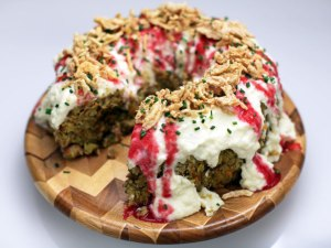 Stuffing in a Bundt Pan from FoodNetwork.com.