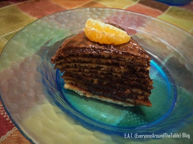 Nutella Torte - Slice
