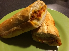 Quiznos - meatball sub