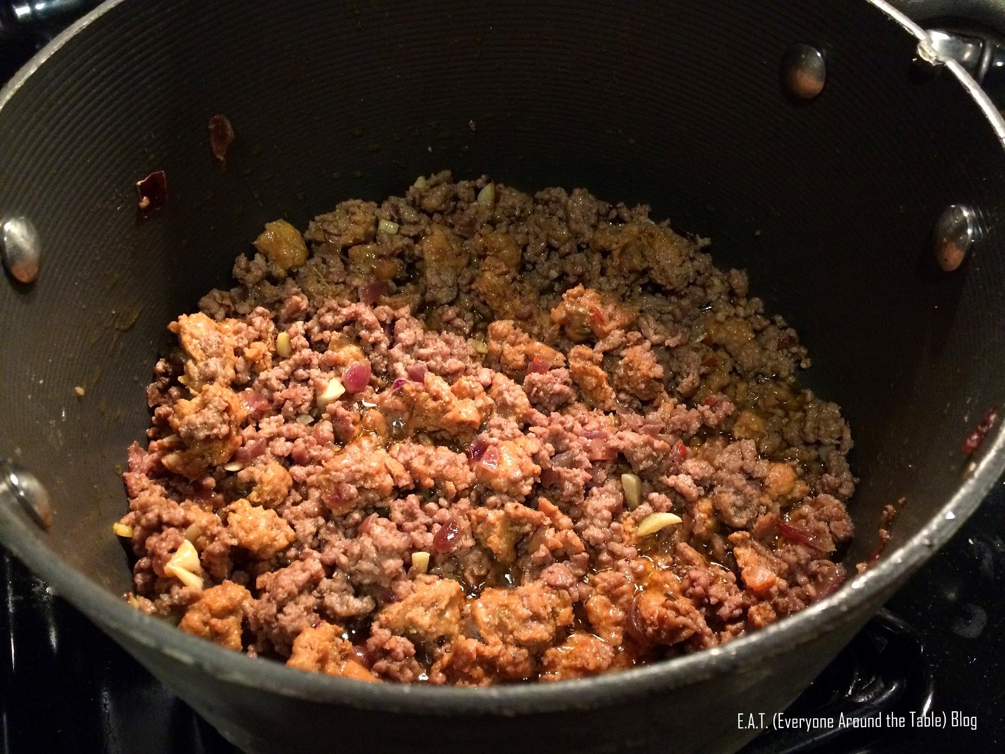 Big Batch Bolognese - meat
