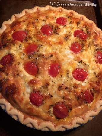Tomato Bacon Tart - Mine - Lynne Cobb