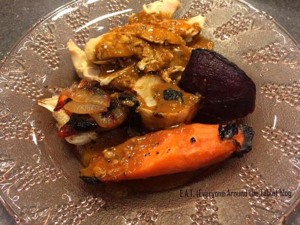 Sunday Roast Chicken - served