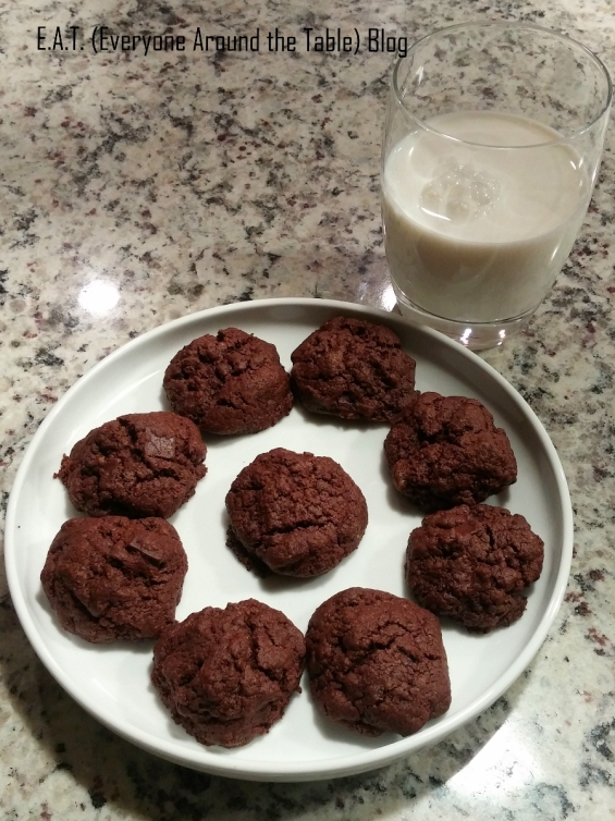 Have a cold glass of milk with your Mayan Mystery Cookies